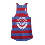 KC Logo Tank Top Red/Blue | AP101RB