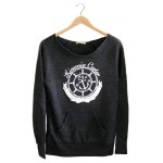KC Pullover Sweatshirt in Black | AP105BL